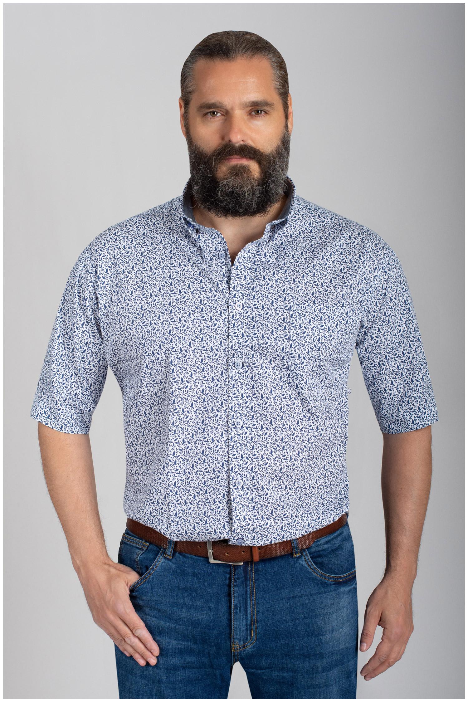 Camisas, Sport Manga Corta, 110859, MARINO   Zoom