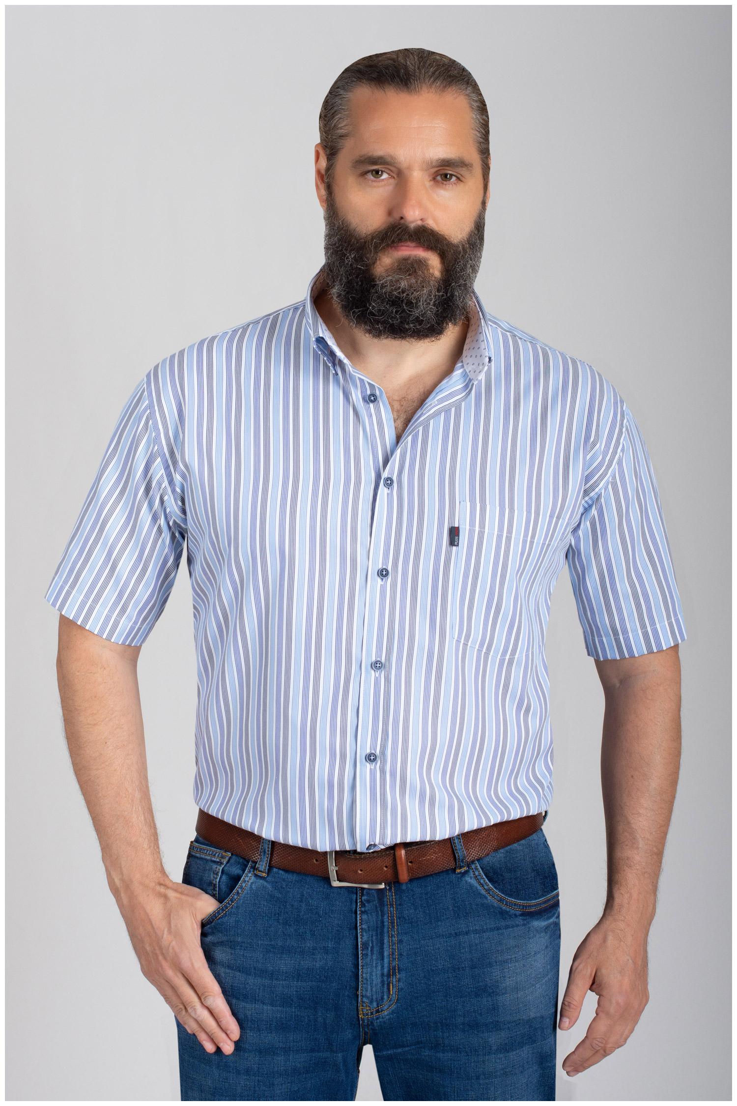 Camisas, Sport Manga Corta, 110875, MARINO   Zoom