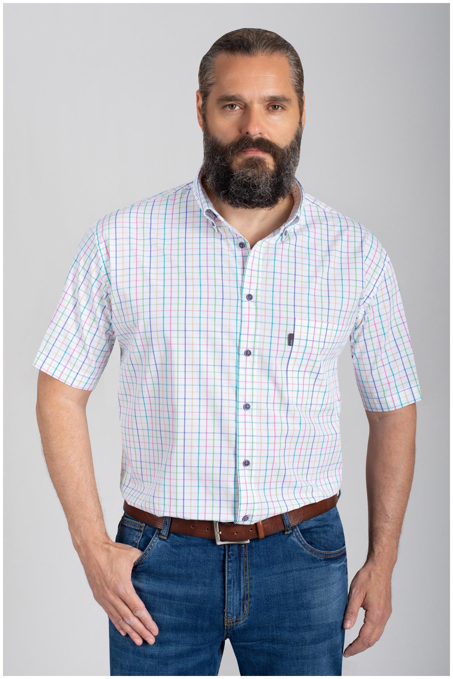 Camisas, Sport Manga Corta, 110876, MARINO | Zoom
