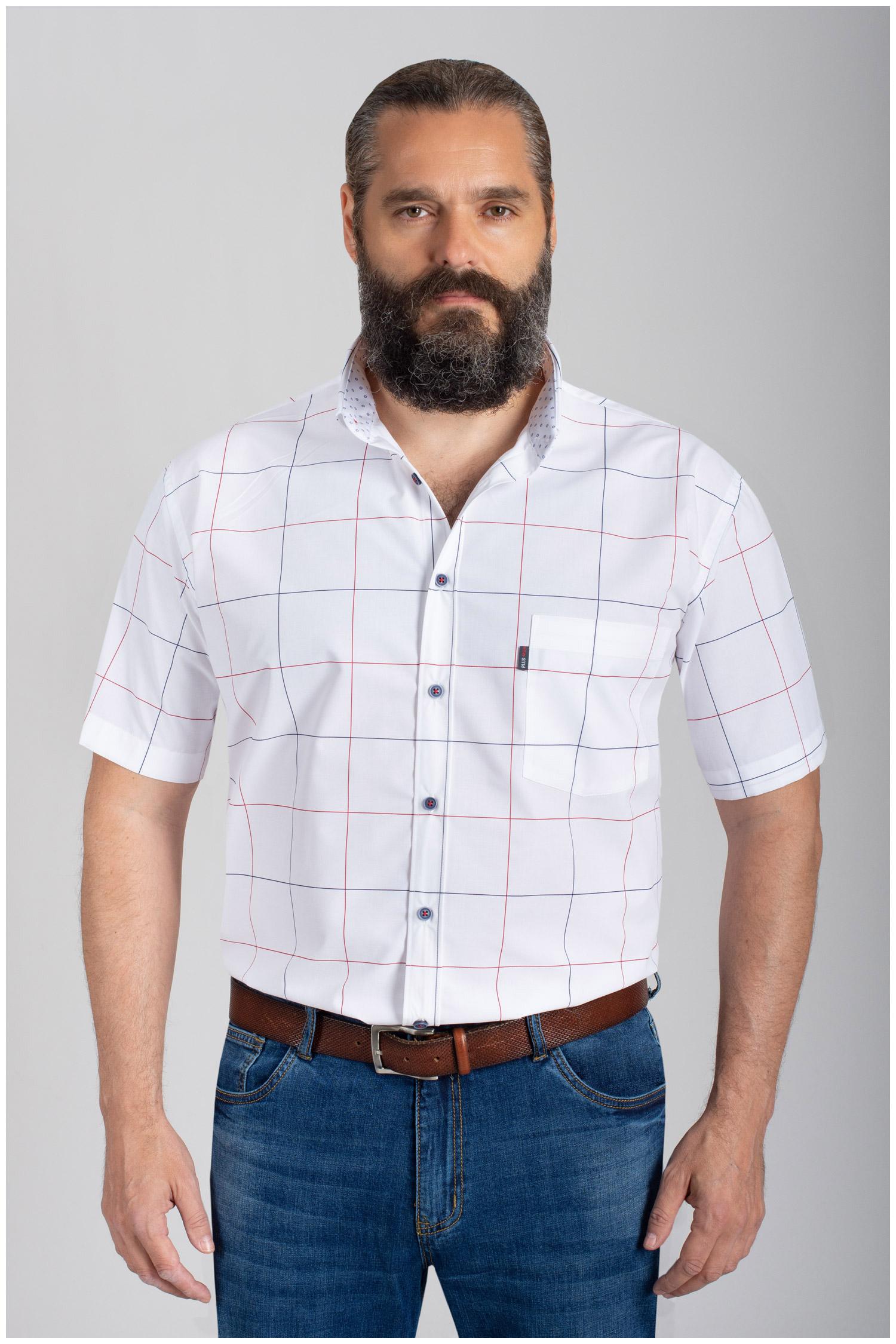 Camisas, Sport Manga Corta, 110878, BLANCO   Zoom
