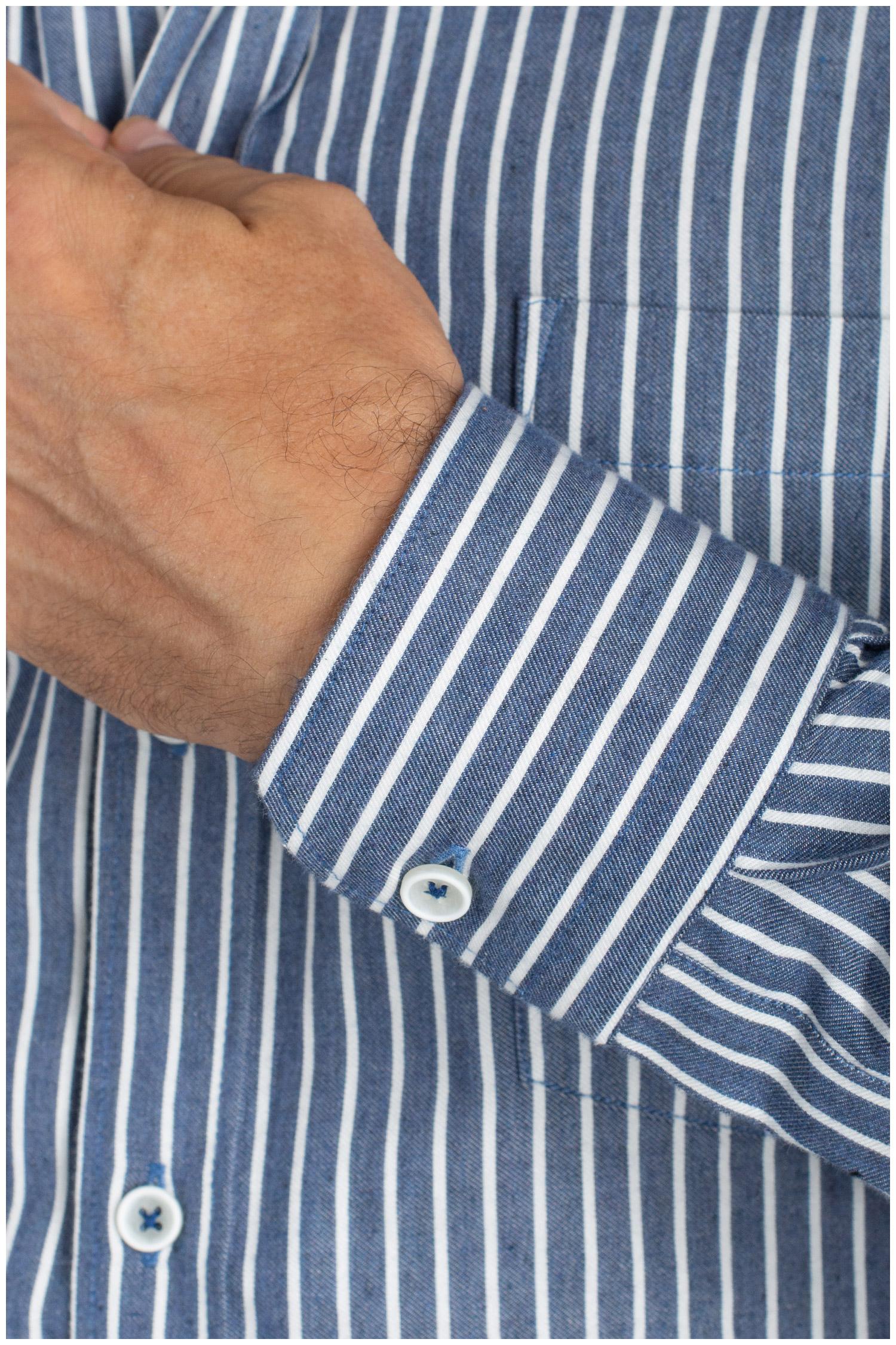 Camisas, Sport Manga Larga, 110884, MARINO | Zoom